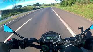 Belém-PA, Santa Catarina viagem de Moto Fan160 #Primeiro Pedágio de Belém até Goiânia GO