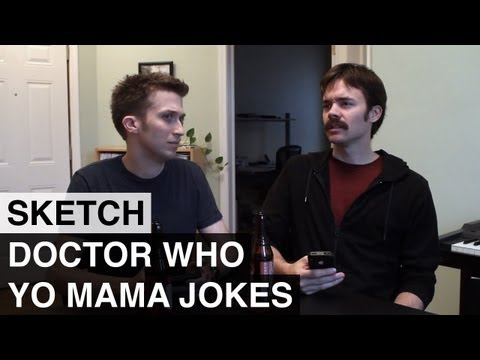 Doctor Who Yo Mama Jokes - Awkward Spaceship