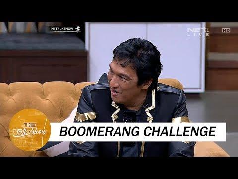 Ikang Fawzi Mau Kayak Kids Jaman Now, Ikutan Main Boomerang