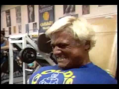 Tom Platz Leg Extension Workout