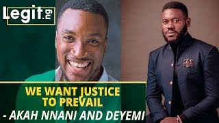 COZA: Actors Akah Nnani and Deyemi Okanlawon want justice to prevail | Legit TV