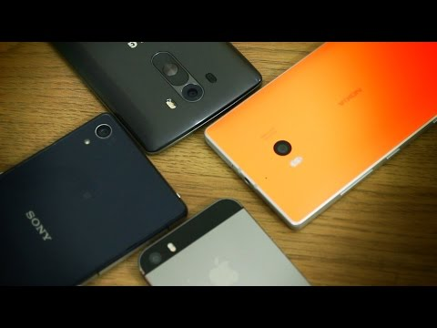 Xperia Z2 vs. iPhone 5s vs. Lumia 930 vs. LG G3 - Camera Battle