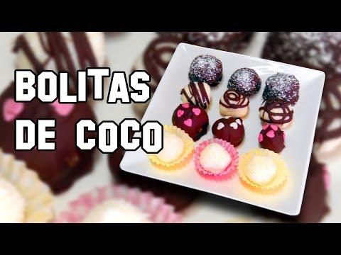 Recetas de Cocina | Como Hacer Bolitas o Bolas de Coco