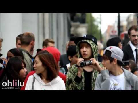 [Fancam] 120622 EXO-K in London - Chanyeol really likes babies Music Videos