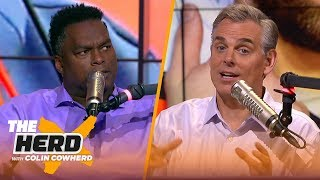 'Drew Brees never beat me in college' — LaVar Arrington | NFL | THE HERD