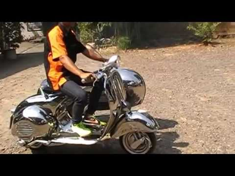 Vespa Sidecar Struzzo Stainless Steel by Scooter99
