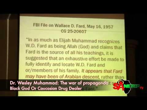 The war of propaganda Black God Or Caucasian Drug Dealer