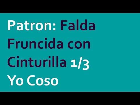 Proyecto Faldas: Falda Fruncida PARTE 1/3