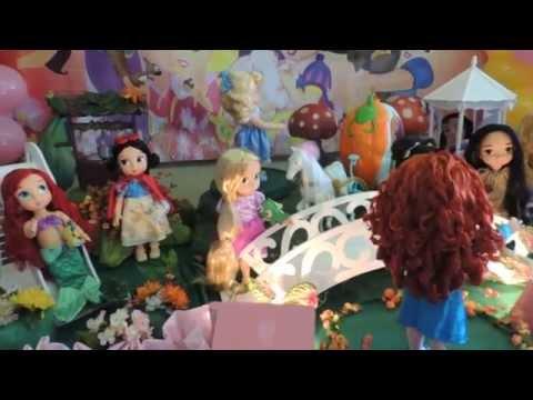 Decoração de Festa As Princesas Baby - *KiARTE Eventos*