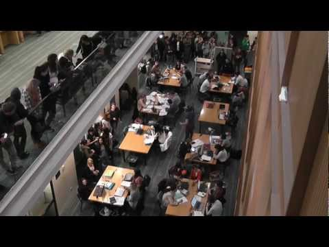 Spotted Plymouth University Library Harlem Shake!