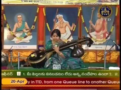 Veena Gayathri 03 AnandaBhairavi Paluke bangara 2011