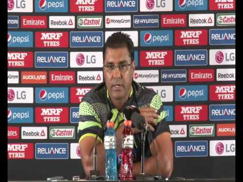 Waqar Younis Post Match Conference   Pakistan v South Africa 7th Mar 2015