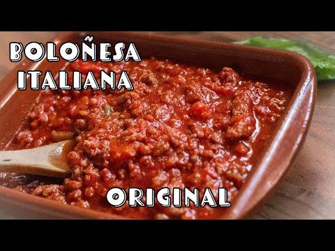 La Autentica Salsa Boloñesa | Receta | Espaguetis Boloñesa | Recetas Italianas | Cocineros Italianos