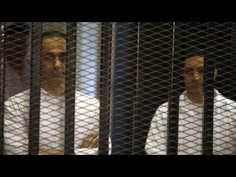 العدالة المصرية تخلى سبيل نجلي الرئيس الأسبق حسني مبارك