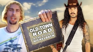 Old Town Road In The Style Of Nickelback