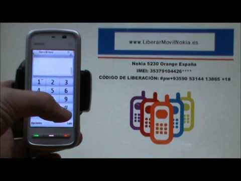 Liberar Nokia 5230 Orange