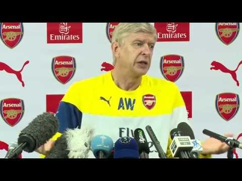 Wenger - We're hungry to put it right pre-match press conference Chelsea vs Arsenal