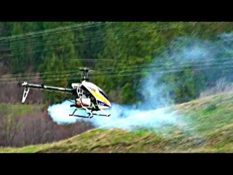 Trex 600 RC HELICOPTER KORC~CRAZY STUNTS