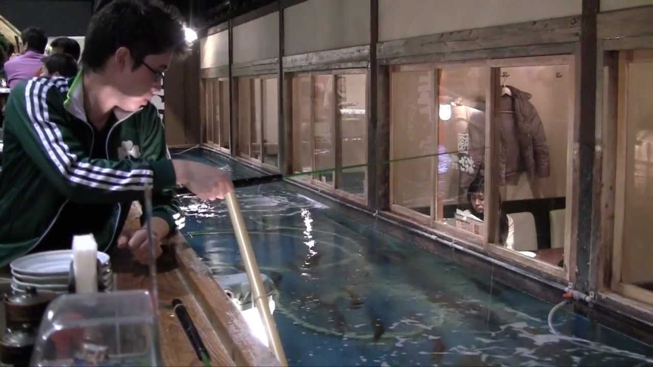 The Japanese Restaurant Where You Catch Your Own Fish