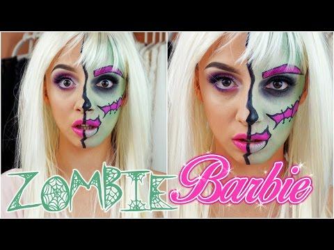 Как сделать из себя барби на хэллоуин