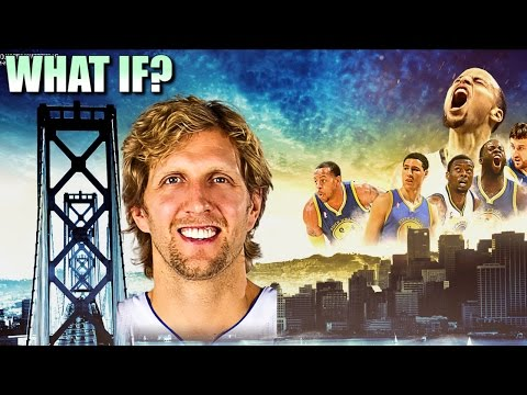 What If Dirk Nowitzki signs with the Golden State Warriors?