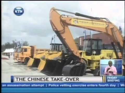 Fears Of Chinese Are Taking Over Business In Kenya And Pushing Out Local Businessmen And Women video