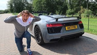 Why This Audi R8 Is A Bugatti DESTROYER!   First Drive