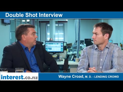 Double Shot Interview with Wayne Croad, Managing Director - Lending Crowd, February 2016