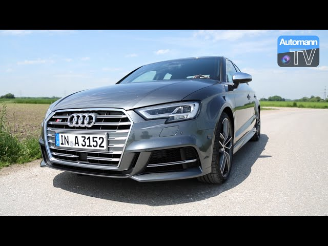 2017 Audi S3 Facelift (310hp) - DRIVE & SOUND ... - YouTube