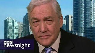 Conrad Black on Donald Trump - BBC Newsnight