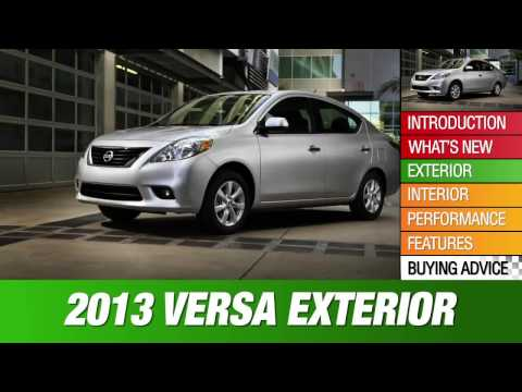 2013 Nissan Versa Review