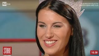 Miss Italia 2019: Carolina Stramare - Storie italiane 10/09/2019