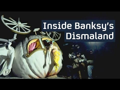 Inside Banksy's Dismaland: a dystopian theme park