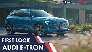 First Look - Audi E-Tron   NDTV carandbike