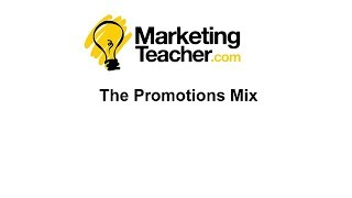 Promotions Mix