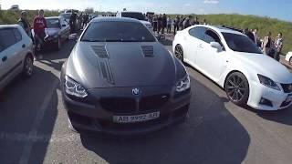 Батл!BMW vs Infiniti G37S, Range Rover Sport vs Infiniti G37S....