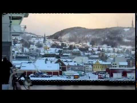 HURTIGRUTEN NORWEGIAN COASTAL EXPRESS IN WINTER (pt1).