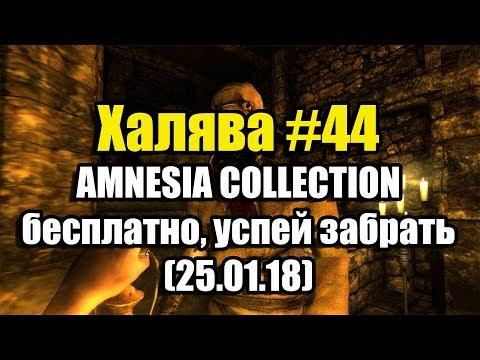 Халява #44 (25.01.18). AMNESIA COLLECTION бесплатно, успей забрать