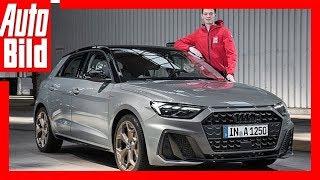 Audi A1 (2018) Sitzprobe im neuen A1