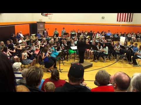 Harry Potter Medley Sandwich Middle School Band 7th Grade