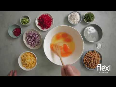 Flexi by Impromy Corn Cakes with Tomato Salsa Recipe