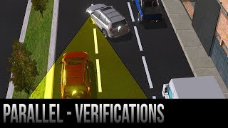 Parallel Parking - Verifications/Safety Steps