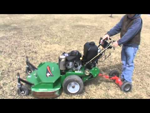 Bobcat 48 Quot Walk Behind Zero Turn Lawn Mower Kawasaki 15hp