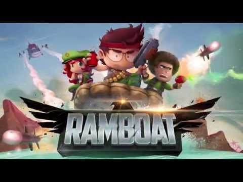 Ramboat - Jumping Shooter Game APK Cover