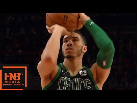 Boston Celtics vs Portland Trail Blazers 1st Half Highlights / March 23 / 2017-18 NBA Season