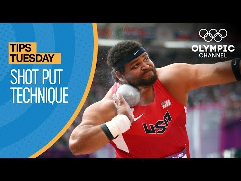 How to Throw a Shot Put ft. Reese Hoffa   Olympians' Tips thumbnail