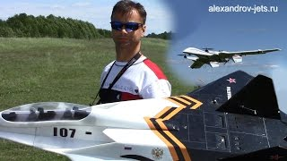 RC Planes: EDF JET & VTOL UAV, 100-й полёт Доминатора и полёты Киберларуса!