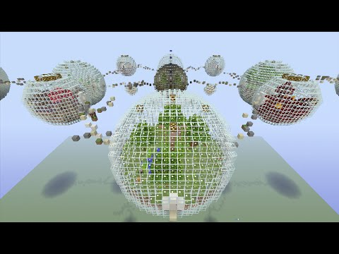 Minecraft (xbox 360) - Bubble Biome - Hunger Games video