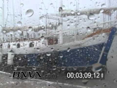 Hurricane Frances Video, Fort Pierce, FL and Hutchinson Island, FL Part 3