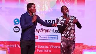 MAULANA AND REIGN BRING THE HOUSE DOWN IN KAMPALA, UGANDAN COMEDY